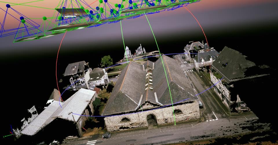 Une nette progression des demandes de formations en photogrammétrie par drone.