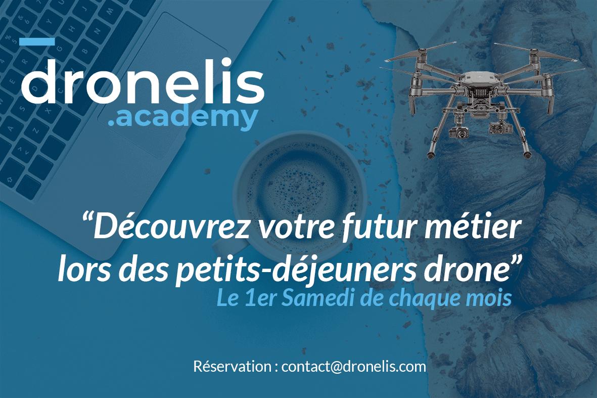 DronelisAcademy lance ses petits-déjeuner Drone.